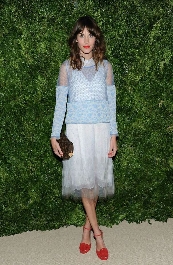 Model Alexa Chung attends the 2012 CFDA / Vogue Fashion Fund Awards on Tuesday Nov. 13, 2012 in New York. Photo: Evan Agostini, Evan Agostini/Invision/AP / Invision