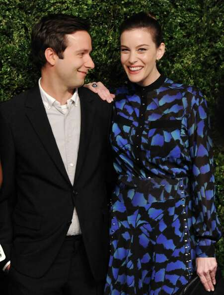 Designer Jack McCollough and actress Liv Tyler attend the 2012 CFDA / Vogue Fashion Fund Awards on T