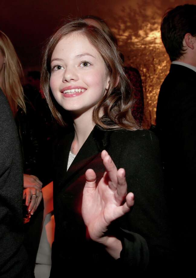 "Actress  Mackenzie Foy attends the premiere of Summit Entertainment's""The Twilight Saga: Breaking Dawn - Part 2"" after party at Nokia Event Deck L.A. Live on November 12, 2012 in Los Angeles, California.  (Photo by Christopher Polk/Getty Images) Photo: Christopher Polk, Getty Images / 2012 Getty Images"