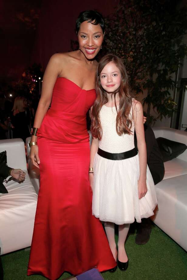"Actresses Tracey Heggins (L) and Mackenzie Foy attend the premiere of Summit Entertainment's""The Twilight Saga: Breaking Dawn - Part 2"" after party at Nokia Event Deck L.A. Live on November 12, 2012 in Los Angeles, California.  (Photo by Christopher Polk/Getty Images) Photo: Christopher Polk, Getty Images / 2012 Getty Images"