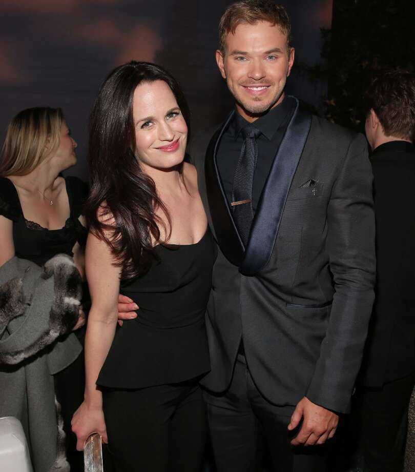 "Actors Elizabeth Reaser (L) and Kellan Lutz attend the premiere of Summit Entertainment's""The Twilight Saga: Breaking Dawn - Part 2"" after party at Nokia Event Deck L.A. Live on November 12, 2012 in Los Angeles, California.  (Photo by Christopher Polk/Getty Images) Photo: Christopher Polk, Getty Images / 2012 Getty Images"
