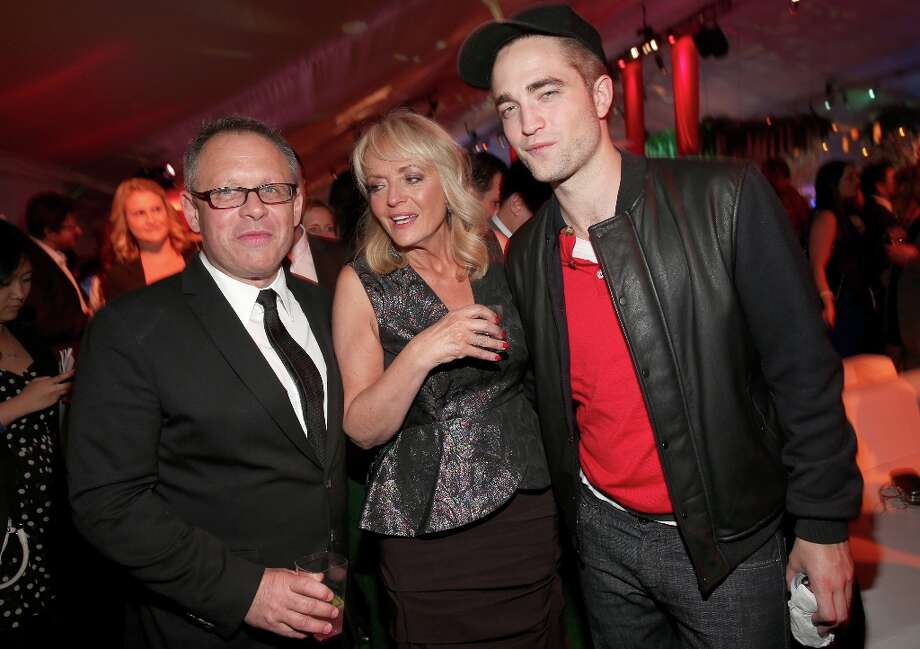 "Director Bill Condon, Clare Pattinson, and Robert Pattinson attend the premiere of Summit Entertainment's""The Twilight Saga: Breaking Dawn - Part 2"" after party at Nokia Event Deck L.A. Live on November 12, 2012 in Los Angeles, California.  (Photo by Christopher Polk/Getty Images) Photo: Christopher Polk, Getty Images / 2012 Getty Images"