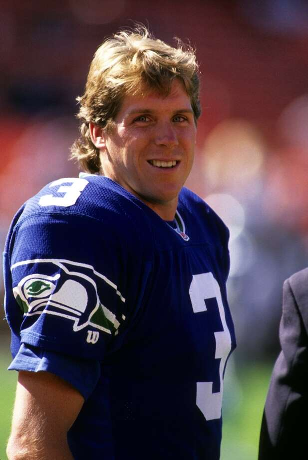 19. Rick Mirer | Seattle Seahawks, 1993 | passer rating: 67.0The last time the Seahawks started a rookie quarterback all season, it was some guy named Rick Mirer. In 1993, he set rookie records for passing attempts, completions and yards, throwing 12 touchdowns and 17 interceptions that season. He finished completing 56.4 percent of his passes and had a passer rating of 67.0 as the Seahawks went 6-10. Photo: George Rose, Getty Images / 1995 Getty Images