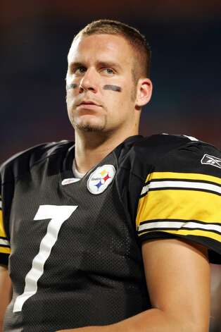 1. Ben Roethlisberger | Pittsburgh Steelers, 2004 | passer rating: 98.1Then there's big Ben Roethlisberger, who surged to the top of the NFL in his rookie year. He threw 17 touchdowns and 11 interceptions in 2004 as he led the Steelers to a 15-1 record and an appearance in the AFC Championship game.  As a rookie, he completed 66.4 percent of his passes and finished with a passer rating of 98.1 -- the best of everyone on this list.  He was named Offensive Rookie of the Year, and has won two Super Bowls (including in 2005 against the Seahawks) in his accomplished football career. (Allen Kee / Getty Images) Photo: Allen Kee, NFL / Getty Images North America
