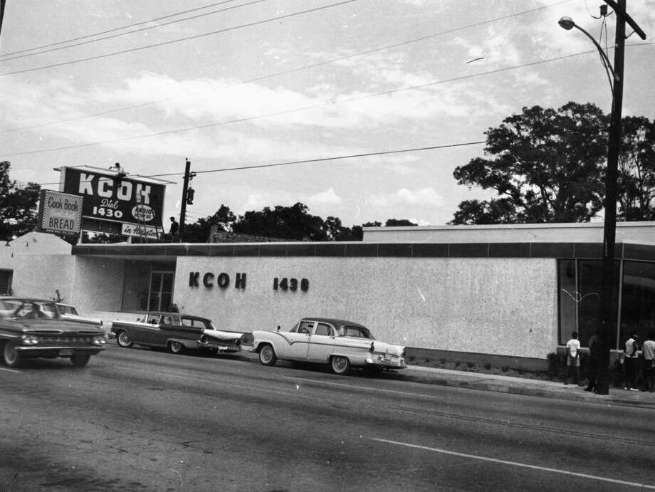 KCOH building, Almeda at Wichita, 1963. (Unknown)