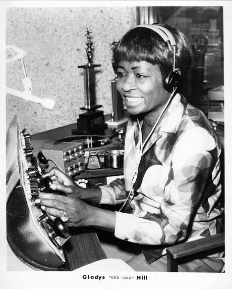 Gladys 'Gee Gee' Hill of KCOH, 1971. (Unknown)