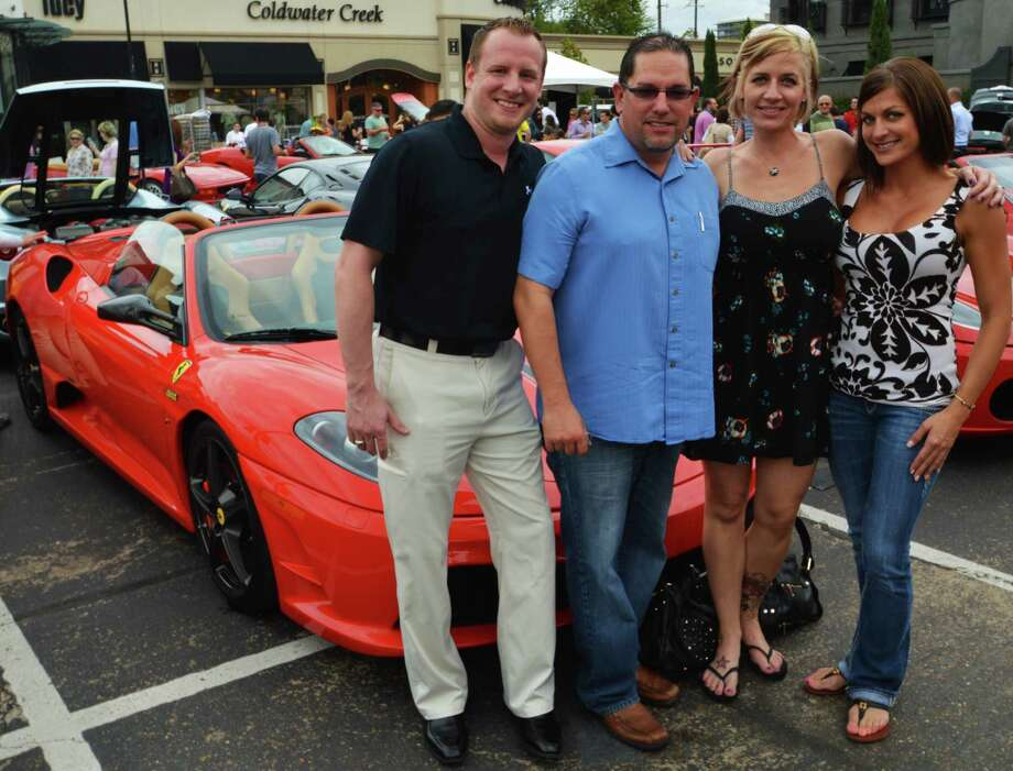 Jon-Micheal Coyne, from left, Michael, Melissa and Jessica Conner
