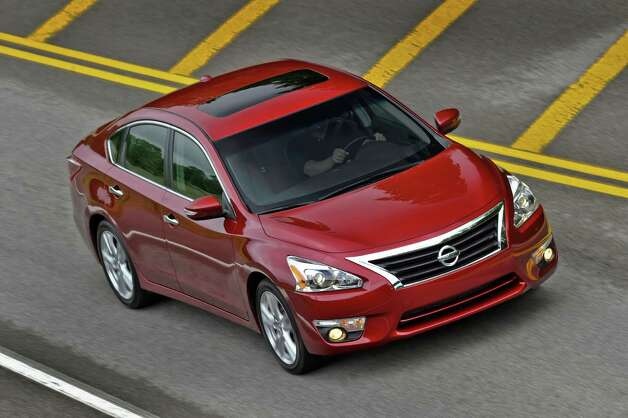 The most innovative version yet, the fifth-generation 2013 Nissan Altima builds on its strong reputation for quality and reliability and adds new levels of innovation, fuel-efficiency, dynamic performance and premium style. Photo: Nissan, Wire Photos / Copyright 2012
