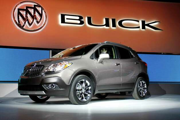 Early next year, Buick will roll its all-new Encore compact crossover, which looks just like a junior-size version of the larger Enclave crossover. 