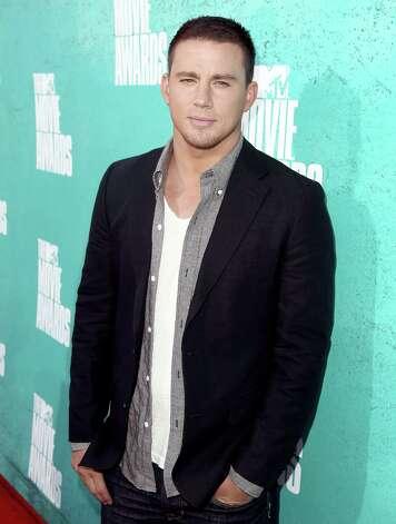 Channing Tatum arrives at the MTV Movie Awards on Sunday, June 3, 2012, in Los Angeles. Photo: Matt Sayles, MATT SAYLES/INVISION/AP / 2012 Invision