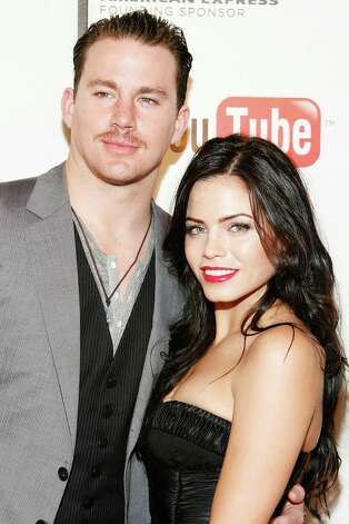 "NEW YORK - APRIL 26:  Actor/producer Channing Tatum (L) and actress/producer Jenna Dewan attend the premiere Of ""Earth Made Of Glass"" during the 2010 Tribeca Film Festival at the Tribeca Performing Arts Center on April 26, 2010 in New York City. Photo: Amy Sussman, Getty Images For Tribeca Film Fe / 2010 Getty Images"