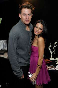 HOLLYWOOD - NOVEMBER 29:  Actor Channing Tatum and actress Jenna Dewan attend the Dizzy Feet Foundation's Inaugural Celebration of Dance at The Kodak Theater on November 29, 2009 in Hollywood, California. Photo: Charley Gallay, Getty Images For Dizzy Feet Foun / 2009 Getty Images