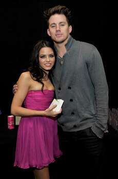 HOLLYWOOD - NOVEMBER 29:  Actress Jenna Dewan and actor Channing Tatum attend the Dizzy Feet Foundation's Inaugural Celebration of Dance at The Kodak Theater on November 29, 2009 in Hollywood, California. Photo: Charley Gallay, Getty Images For Dizzy Feet Foun / 2009 Getty Images