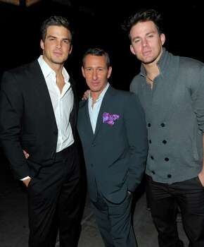 HOLLYWOOD - NOVEMBER 29:  (L-R) Actor Jonathan Roberts, Dizzy Feet Foundation Founding Member Adam Shankman and actor Channing Tatum backstage at the Dizzy Feet Foundation's Inaugural Celebration of Dance at The Kodak Theater on November 29, 2009 in Hollywood, California. Photo: Jason Merritt, Getty Images For Dizzy Feet Foun / 2009 Getty Images