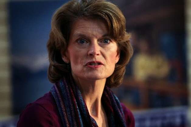 In 2010, Lisa Murkowski, R-Alaska, was the second person ever to win a U.S. Senate election through write-in votes. (Staff/ Getty Images)