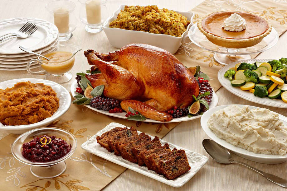 Despite what many people believe, the average adult gains only about 1 pound between Thanksgiving and New Year's Day, according to a study from the New England Journal of Medicine.  Photo: Express-News/File Photo