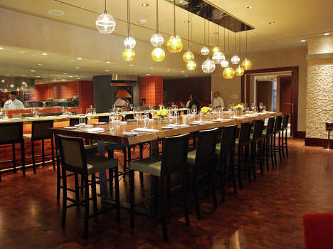 Sustenio at the Éilan Hotel Resort and Spa, 17103 La Cantera Parkway, 210-598-2900, is offering two seatings for dinner. The first seating at 7 p.m. costs $75 for a three-course dinner. The second seating at 9 p.m. costs $125 for a five-course dinner, dancing at iDance City and Champagne toast. Photo: Jerry Lara, Express-News/File Photo / © 2012 San Antonio Express-News