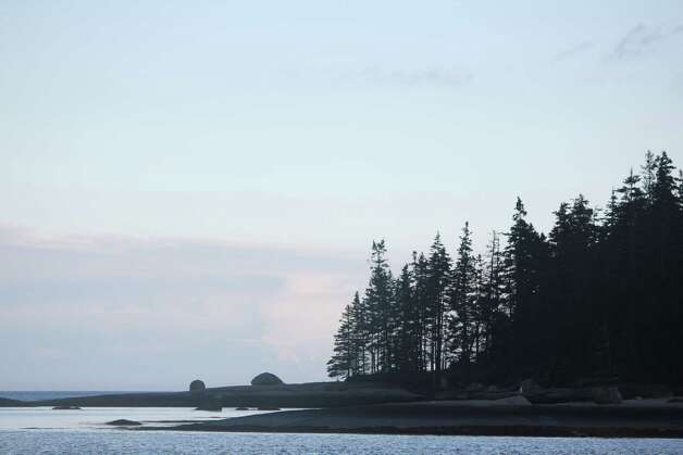 Rocky shores at McGlothen Island, Maine hint at the challenges facing boaters. Photo: Courtesy Photo