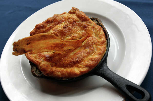 Blue Star Brewing Co. features chicken pot pie on November 13, 2012. Photo: Tom Reel, San Antonio Express-News / ©2012 San Antono Express-News