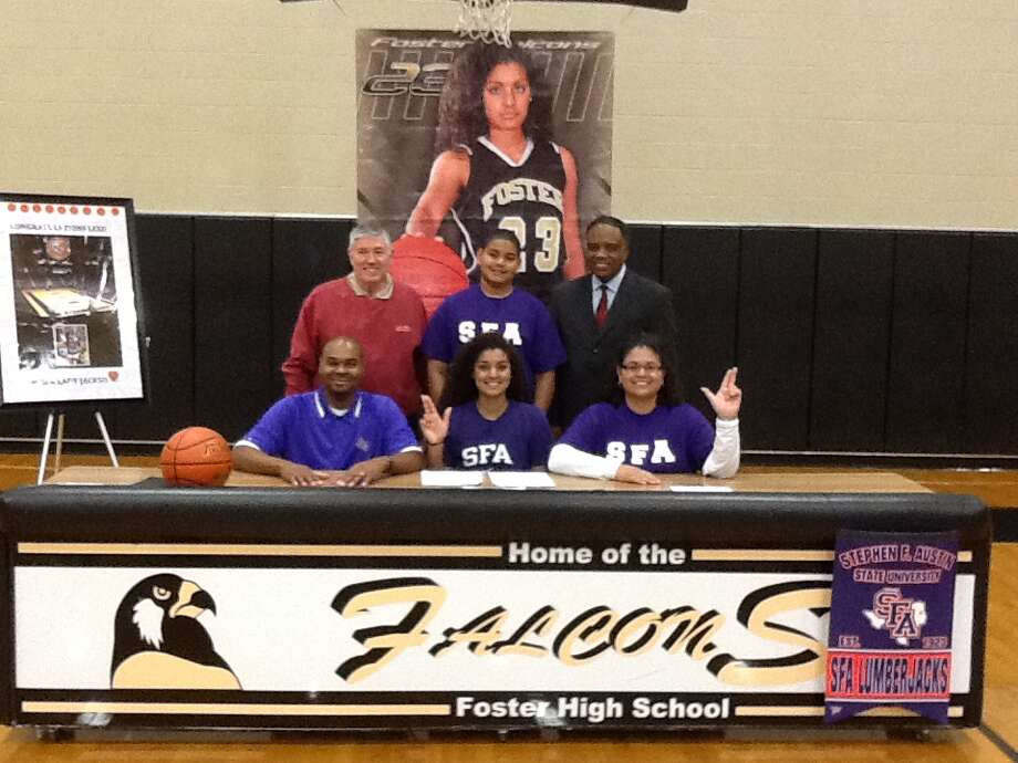 Lexi Fatheree (Guard) for Richmond Foster signed her Letter of Intent to play basketball for The Stephen F. Austin Lumberjacks (Courtesy of Lorraine Fatheree)