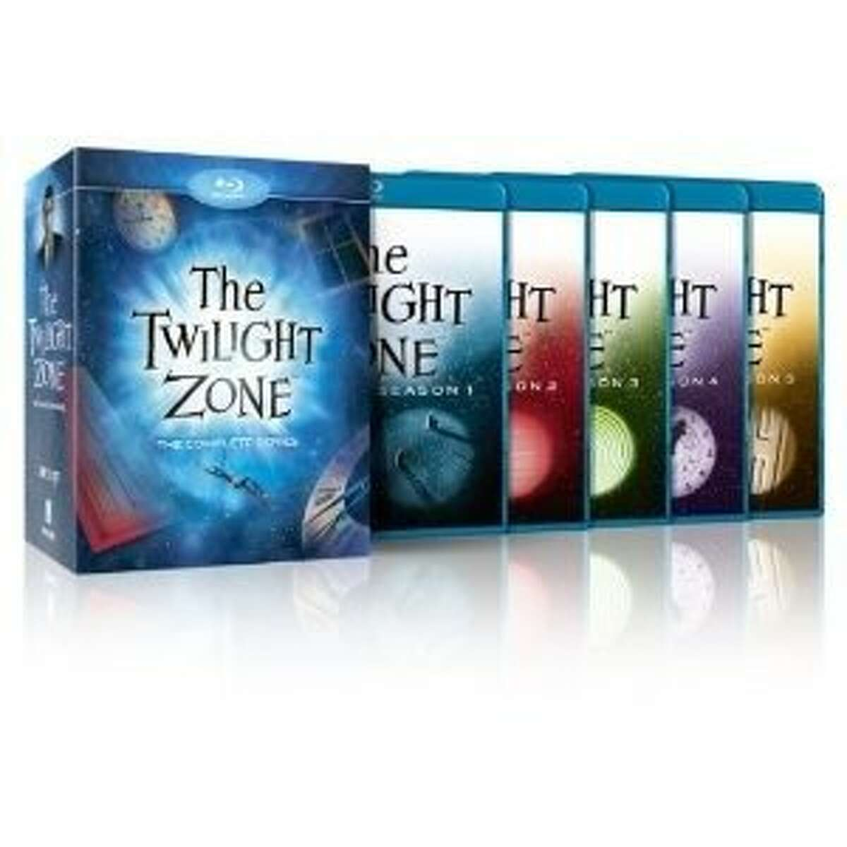 Blu-ray cover: THE TWILIGHT ZONE: COMPLETE SET
