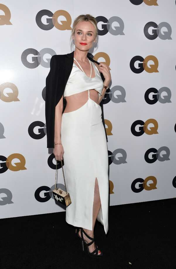 Actress Diane Kruger arrives at the GQ Men of the Year Party at Chateau Marmont on November 13, 2012 in Los Angeles, California.  (Photo by Alberto E. Rodriguez/Getty Images) Photo: Alberto E. Rodriguez, Getty Images / 2012 Getty Images