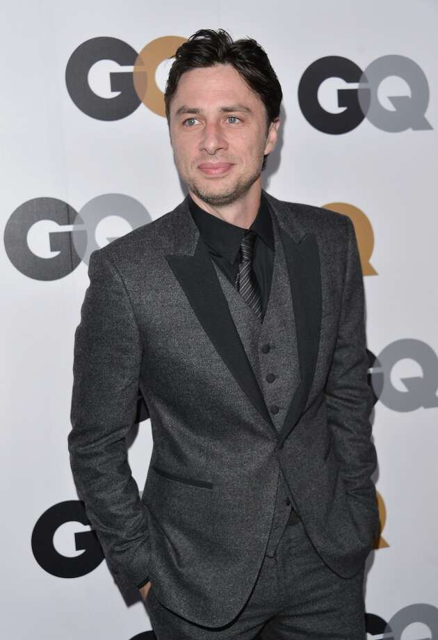 Actor Zach Braff arrives at the GQ Men of the Year Party at Chateau Marmont on November 13, 2012 in Los Angeles, California.  (Photo by Alberto E. Rodriguez/Getty Images) Photo: Alberto E. Rodriguez, Getty Images / 2012 Getty Images