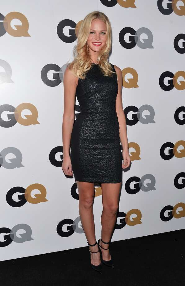 Model Erin Heatherton arrives at the GQ Men of the Year Party at Chateau Marmont on November 13, 2012 in Los Angeles, California.  (Photo by Alberto E. Rodriguez/Getty Images) Photo: Alberto E. Rodriguez, Getty Images / 2012 Getty Images