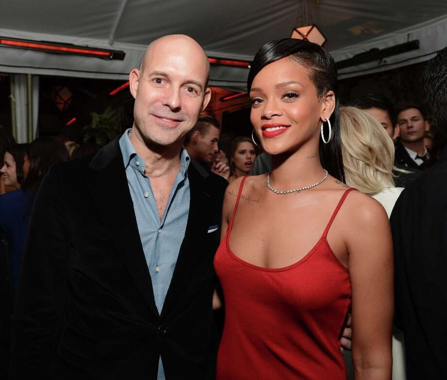 Publisher of GQ Chris Mitchell and singer Rihanna attend the GQ Men of the Year Party at Chateau Marmont on November 13, 2012 in Los Angeles, California.  (Photo by Michael Kovac/Getty Images For GQ) Photo: Michael Kovac, Getty Images For GQ / 2012 Getty Images