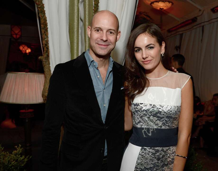 Publisher of GQ Chris Mitchell and Camilla Belle attend the GQ Men of the Year Party at Chateau Marmont on November 13, 2012 in Los Angeles, California.  (Photo by Michael Kovac/Getty Images For GQ) Photo: Michael Kovac, Getty Images For GQ / 2012 Getty Images