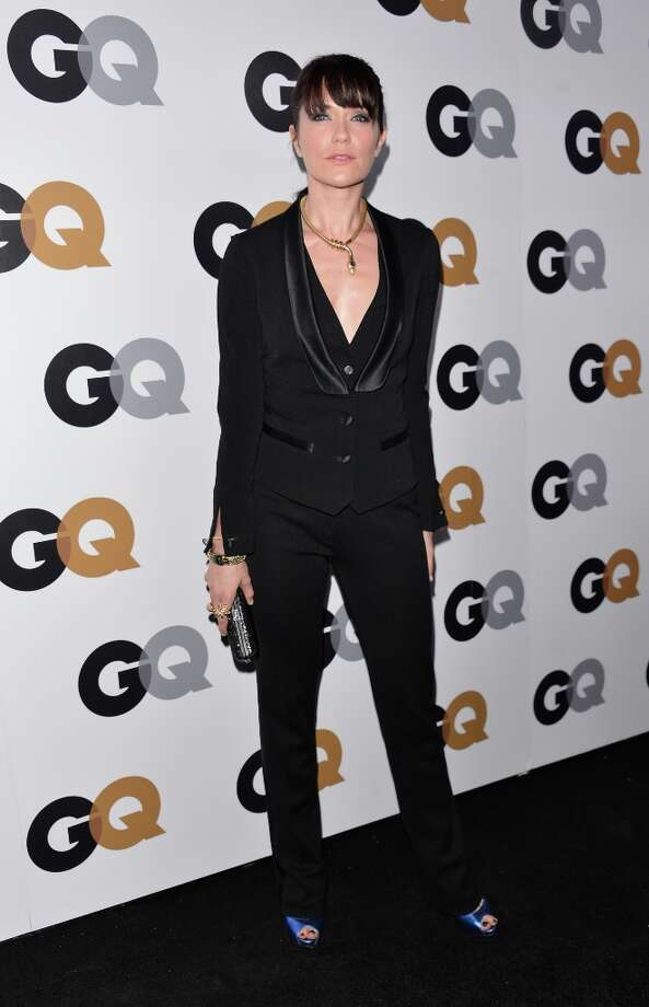 Actress Katie Aselton arrives at the GQ Men of the Year Party at Chateau Marmont on November 13, 2012 in Los Angeles, California.  (Photo by Alberto E. Rodriguez/Getty Images) Photo: Alberto E. Rodriguez, Getty Images / 2012 Getty Images