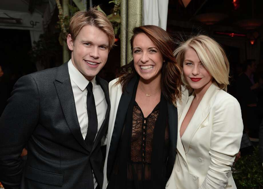 Actors Chord Overstreet (L) and Julianne Hough (R) attend the GQ Men of the Year Party at Chateau Marmont on November 13, 2012 in Los Angeles, California.  (Photo by Michael Kovac/Getty Images For GQ) Photo: Michael Kovac, Getty Images For GQ / 2012 Getty Images
