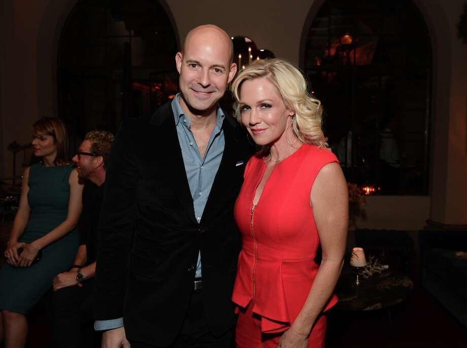 Publisher of GQ Chris Mitchell and actress Jennie Garth attend the GQ Men of the Year Party at Chateau Marmont on November 13, 2012 in Los Angeles, California.  (Photo by Michael Kovac/Getty Images For GQ) Photo: Michael Kovac, Getty Images For GQ / 2012 Getty Images