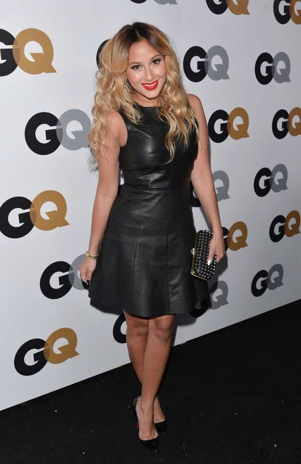 Singer Adrienne Bailon arrives at the GQ Men of the Year Party at Chateau Marmont on November 13, 2012 in Los Angeles, California.  (Photo by Alberto E. Rodriguez/Getty Images) Photo: Alberto E. Rodriguez, Getty Images / 2012 Getty Images