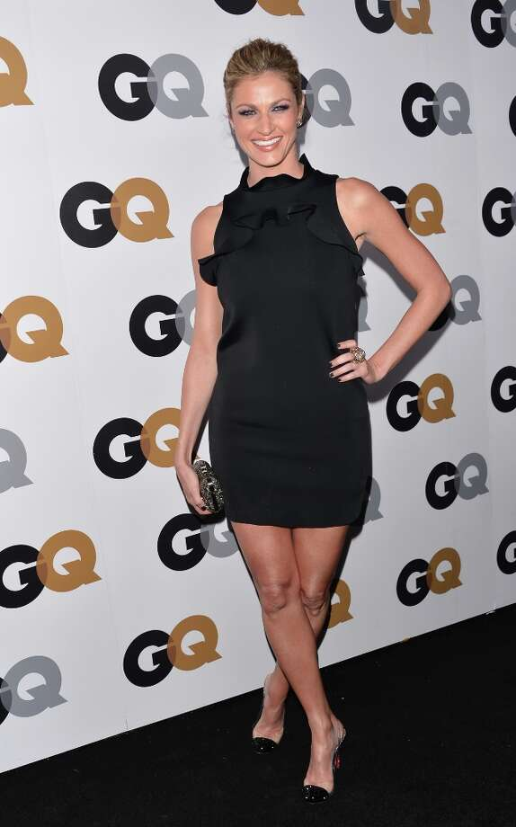 Sportscaster Erin Andrews arrives at the GQ Men of the Year Party at Chateau Marmont on November 13, 2012 in Los Angeles, California.  (Photo by Alberto E. Rodriguez/Getty Images) Photo: Alberto E. Rodriguez, Getty Images / 2012 Getty Images