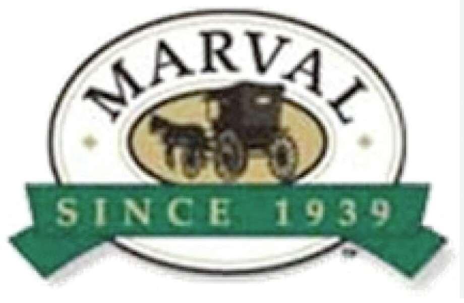 Marval turkey label