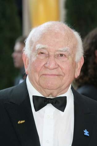 Actor Ed Asner arrives at the 82nd Academy Awards at the Kodak Theater in Hollywood, California on March 07, 2010.   AFP PHOTO Valerie MACON (Photo credit should read VALERIE MACON/AFP/Getty Images) Photo: VALERIE MACON / AFP