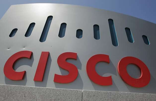 This Wednesday, May 9. 2012, file photo, shows an exterior view of Cisco headquarters in Santa Clara, Calif. Cisco Systems Inc., the world's largest maker of computer networking gear, said Tuesday Nov. 13, 2012,  that U.S. companies are starting to spend again, helping Cisco find more solid footing after some shaky months early this year. (AP Photo/Paul Sakuma) Photo: Paul Sakuma, Associated Press