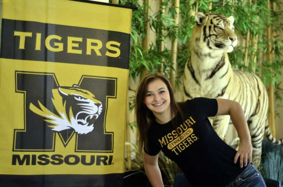 Alyson Heimsath Mizzou spirit (Courtesy of Conroe Athletic Department)