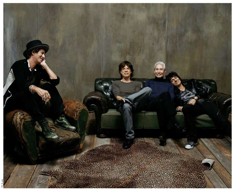 "The Rolling Stones - from left, Keith Richards, Mick Jagger, Charlie Watts and Ronnie Wood - still rock after all these years. The HBO documentary ""Crossfire Hurricane"" explains why. Photo: Courtesy Of Rolling Stones, Handout / ONLINE_YES"