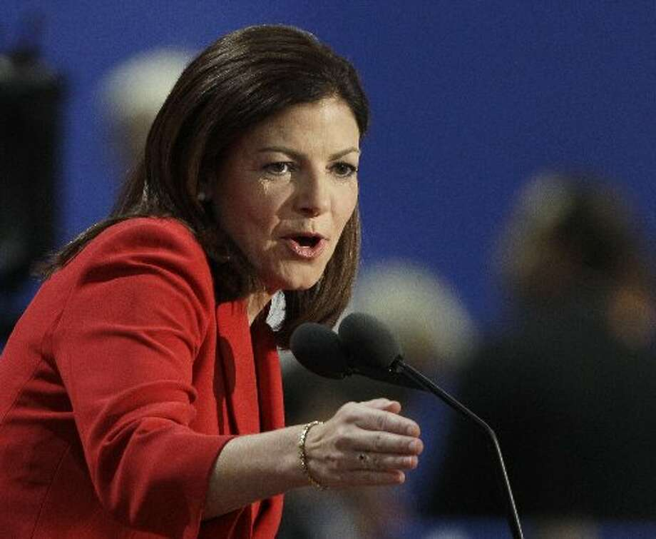 Kelly Ayotte, R-New Hampshire, on the campaign trail in August. (AP  Photo/Charlie Neibergall, File)