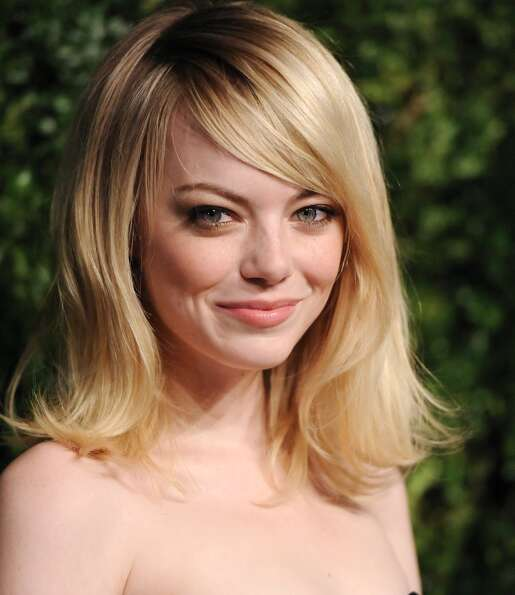 Actress Emma Stone attends the 2012 CFDA / Vogue Fashion Fund Awards on Tuesday Nov. 13, 2012 in New