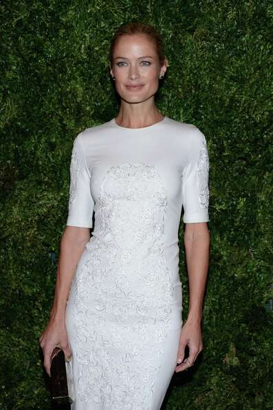 Model Carolyn Murphy attends The Ninth Annual CFDA/Vogue Fashion Fund Awards at 548 West 22nd Street