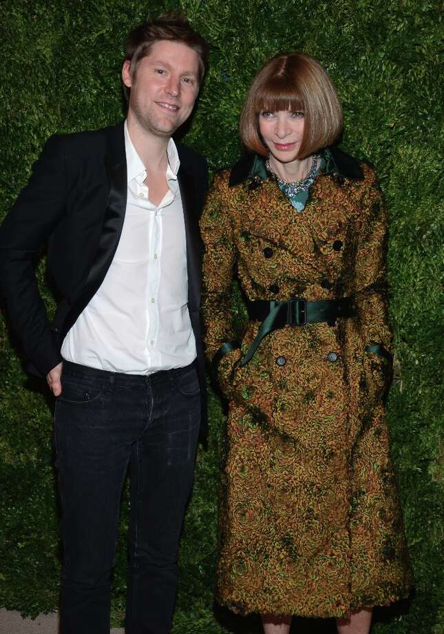 Burberry CCO Christopher Bailey and Vogue Editor-in-Chief Anna Wintour attend The Ninth Annual CFDA/Vogue Fashion Fund Awards at 548 West 22nd Street on November 13, 2012 in New York City.  (Photo by Dimitrios Kambouris/Getty Images) Photo: Dimitrios Kambouris, Getty Images / 2012 Getty Images