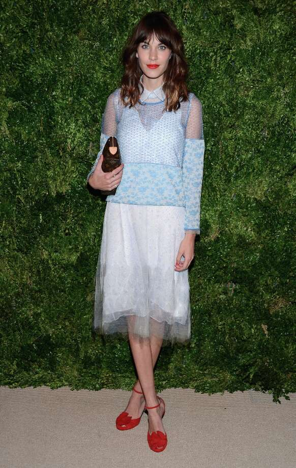 Alexa Chung attends The Ninth Annual CFDA/Vogue Fashion Fund Awards at 548 West 22nd Street on November 13, 2012 in New York City.  (Photo by Dimitrios Kambouris/Getty Images) Photo: Dimitrios Kambouris, Getty Images / 2012 Getty Images