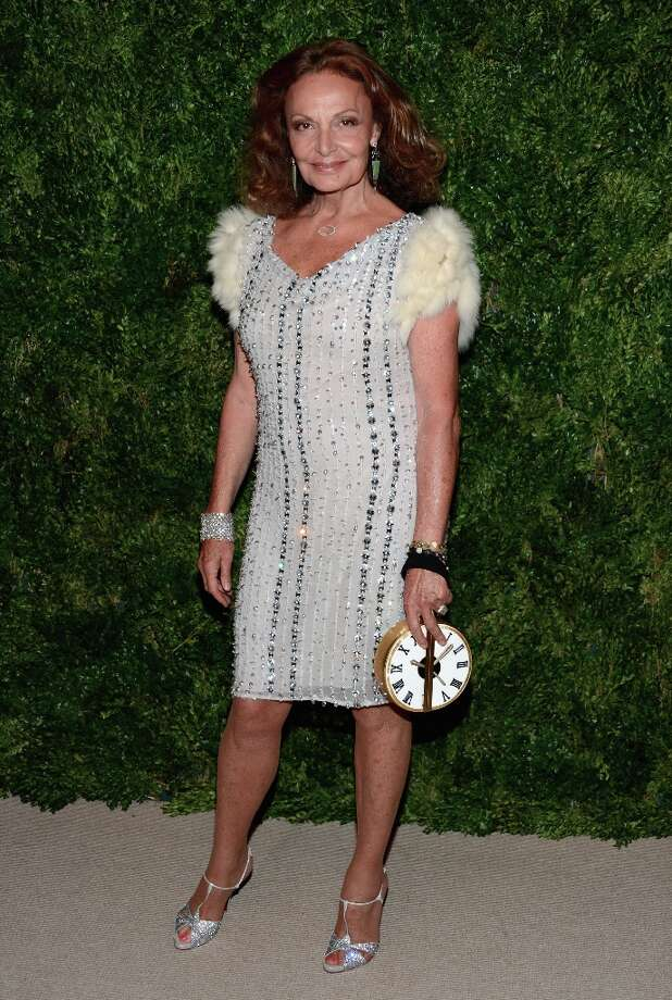 Designer Diane Von Furstenberg attends The Ninth Annual CFDA/Vogue Fashion Fund Awards at 548 West 22nd Street on November 13, 2012 in New York City.  (Photo by Dimitrios Kambouris/Getty Images) Photo: Dimitrios Kambouris, Getty Images / 2012 Getty Images