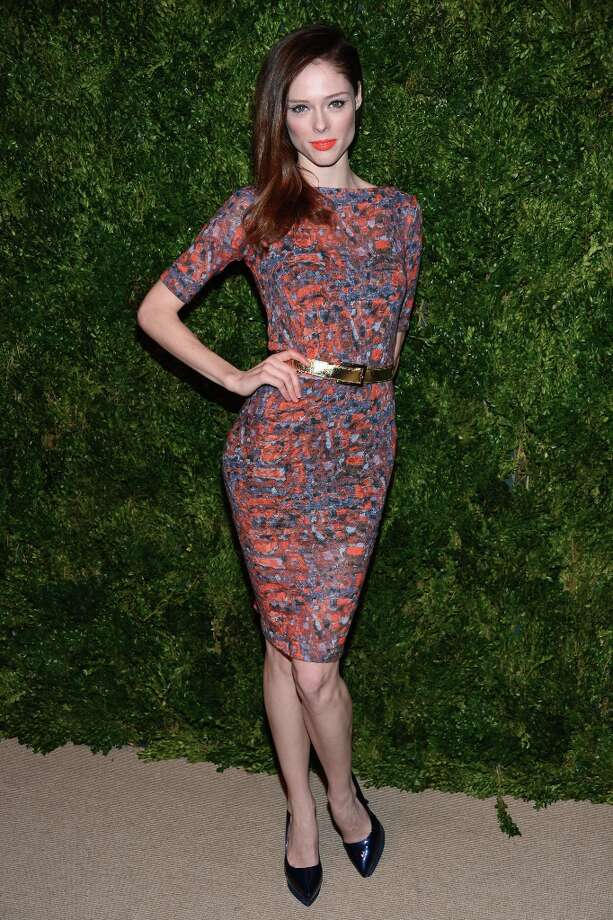 Coco Rocha attends The Ninth Annual CFDA/Vogue Fashion Fund Awards at 548 West 22nd Street on November 13, 2012 in New York City.  (Photo by Dimitrios Kambouris/Getty Images) Photo: Dimitrios Kambouris, Getty Images / 2012 Getty Images