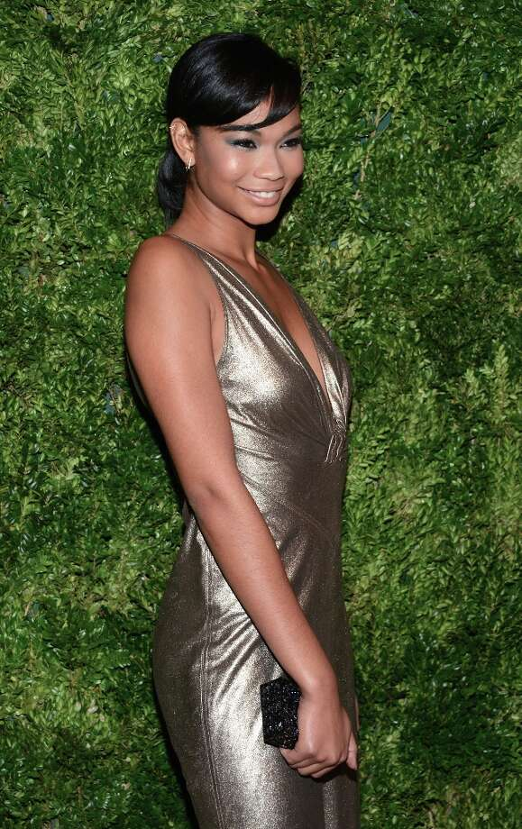 Chanel Iman attends The Ninth Annual CFDA/Vogue Fashion Fund Awards at 548 West 22nd Street on November 13, 2012 in New York City.  (Photo by Dimitrios Kambouris/Getty Images) Photo: Dimitrios Kambouris, Getty Images / 2012 Getty Images