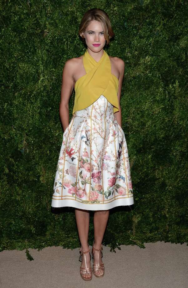 Cody Horn attends The Ninth Annual CFDA/Vogue Fashion Fund Awards at 548 West 22nd Street on November 13, 2012 in New York City.  (Photo by Dimitrios Kambouris/Getty Images) Photo: Dimitrios Kambouris, Getty Images / 2012 Getty Images