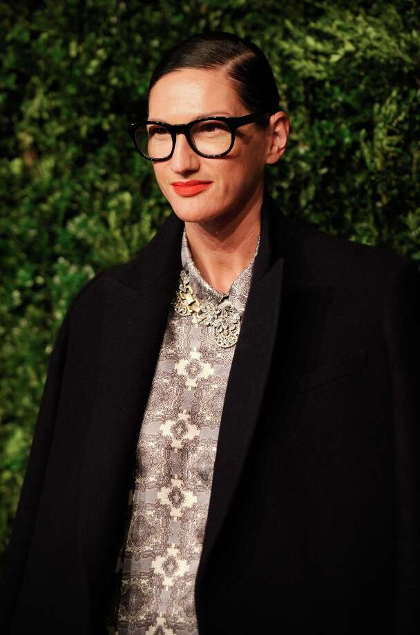 JCrew President and Creative Director Jenna Lyons attends The Ninth Annual CFDA/Vogue Fashion Fund Awards at 548 West 22nd Street on November 13, 2012 in New York City.  (Photo by Dimitrios Kambouris/Getty Images) Photo: Dimitrios Kambouris, Getty Images / 2012 Getty Images